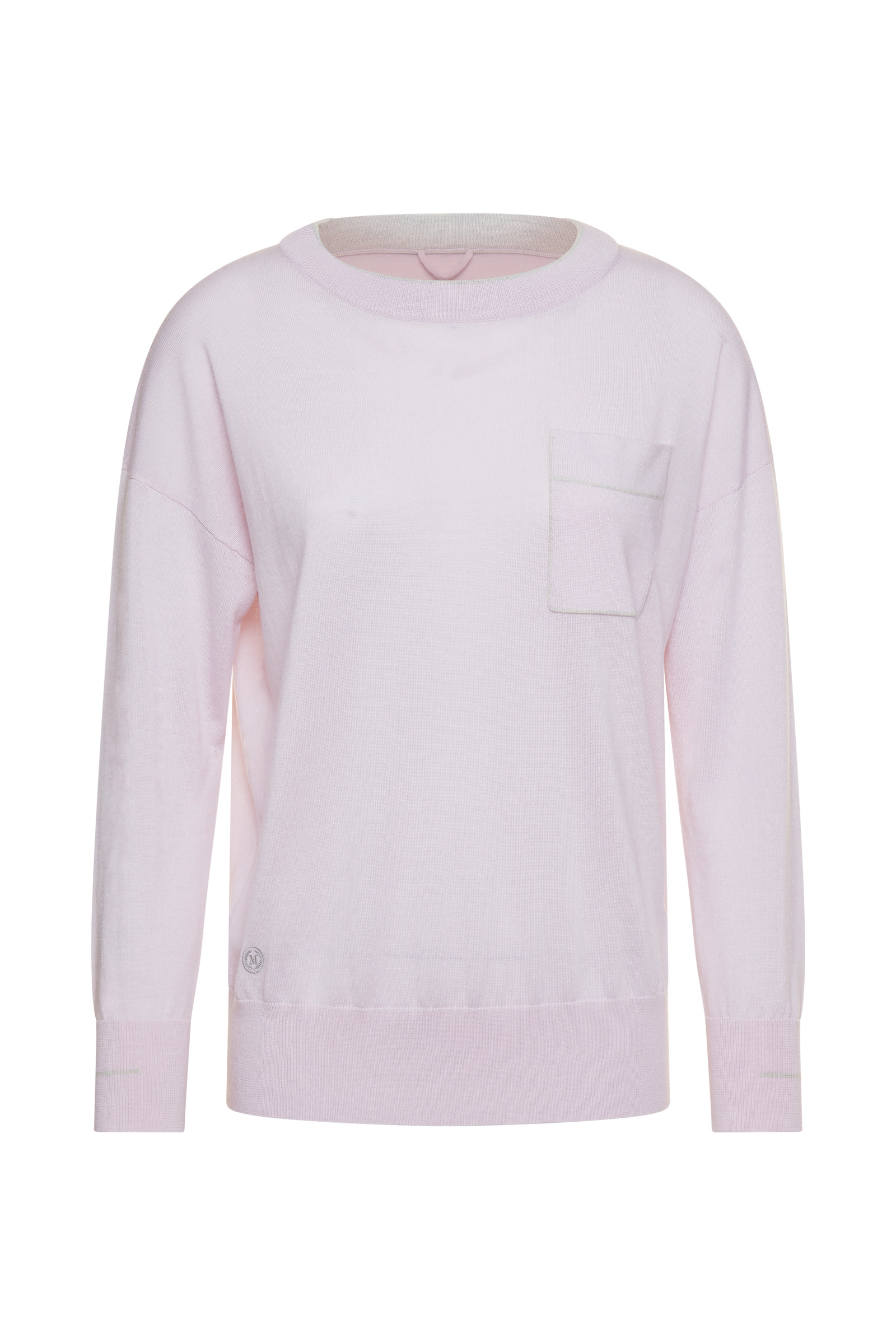 PULL COL V PIANOLO ROSE