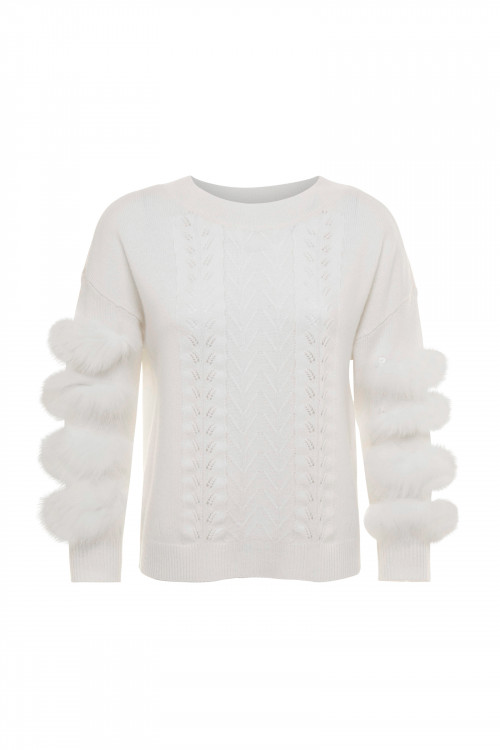 Small product image of PULL PINKO BLANC
