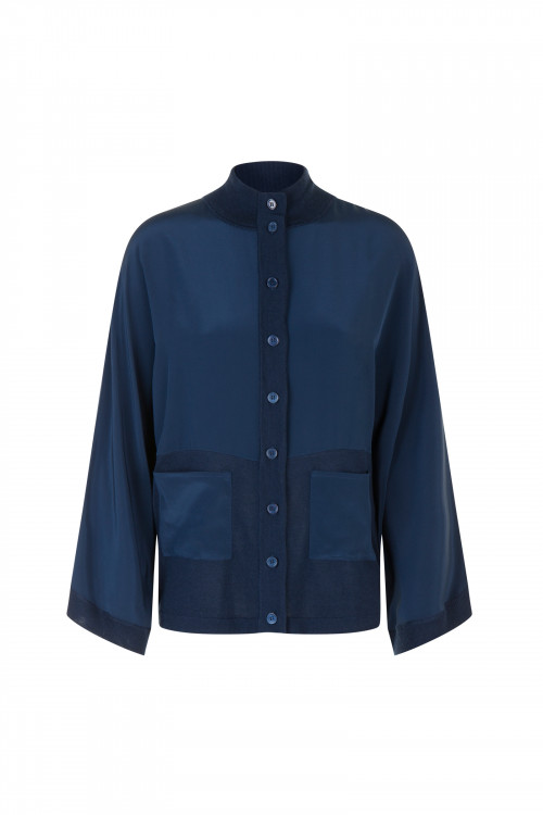 Small product image of CARDIGAN HARNES NAVY