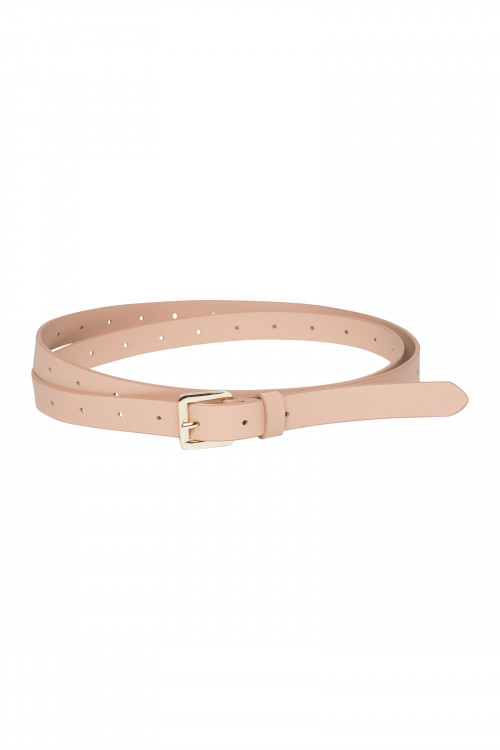 Small product image of AMBREY LEATHER BELT  BEIGE