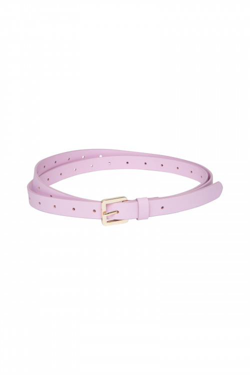 Small product image of AMBREY LEATHER BELT  LILAC