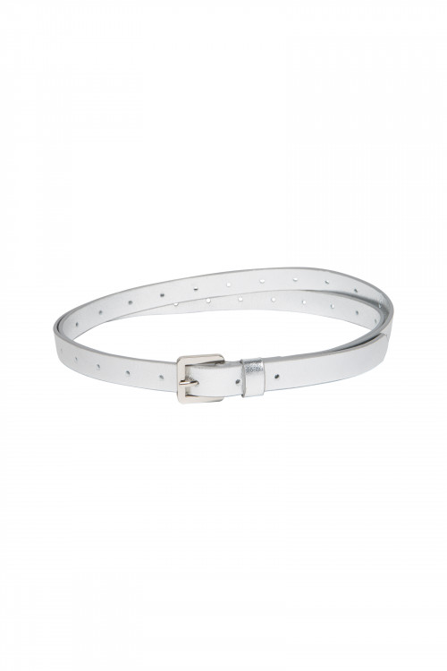Small product image of AMBREY LEATHER BELT  SILVER