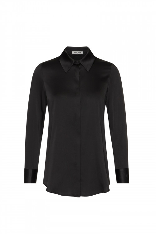 Small product image of SILK SHIRT LEVY BLACK