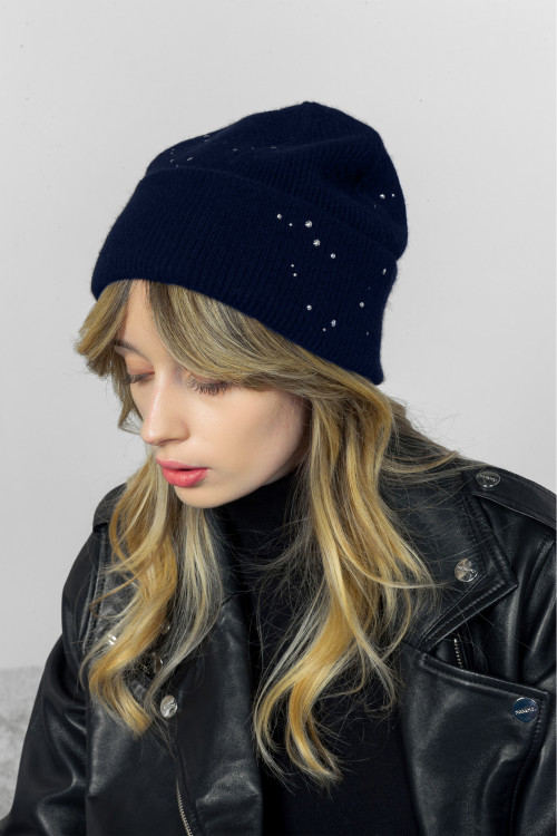 Small product image of BEANIE ABEILLE MARINE