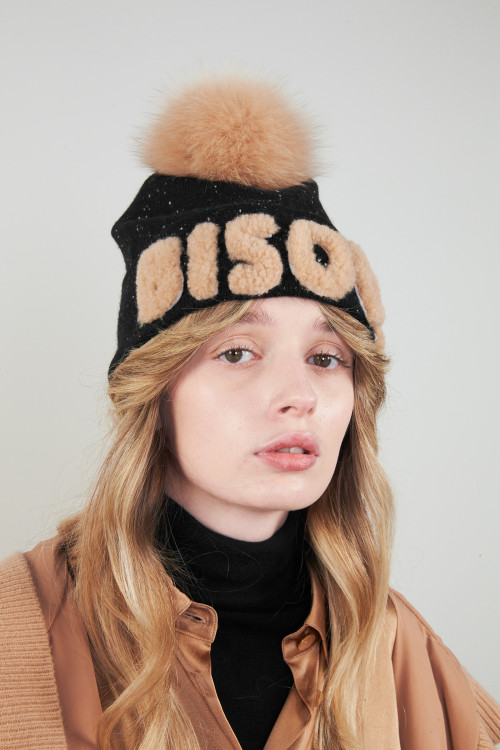 Small product image of BEANIE ABSOLU DROLEDENOIR