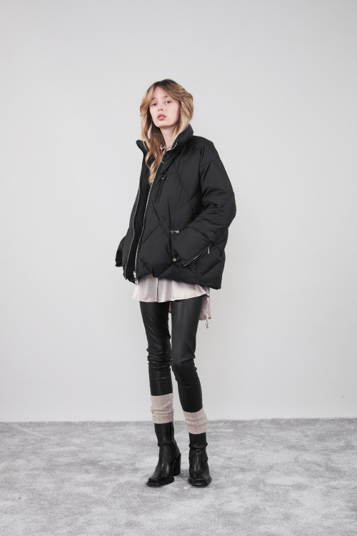 Small product image of QUILTED JACKET DOYON BLACK
