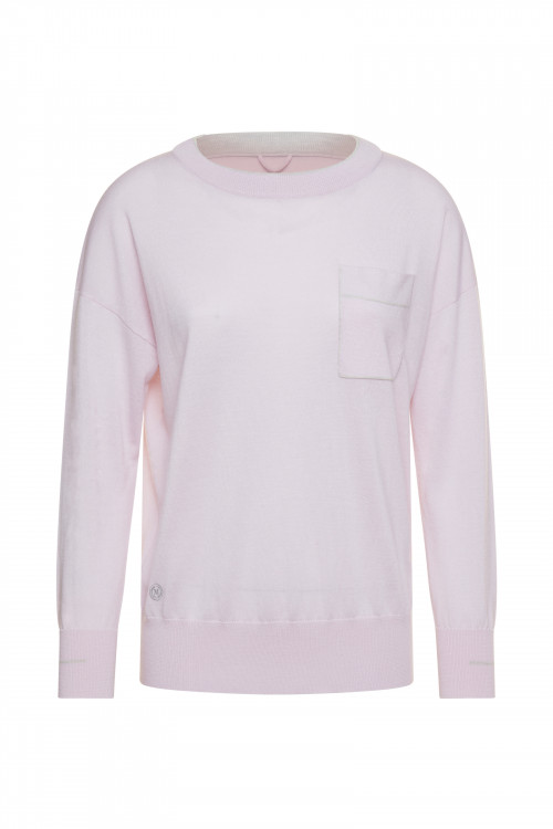 Small product image of V NECK JUMPER PIANOLO ROSE