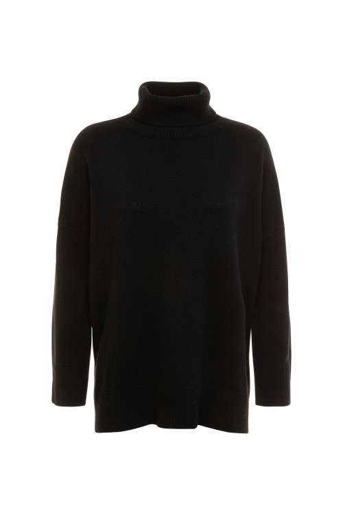 Small product image of TURTLE NECK JUMPER PRAIRIE BLACK