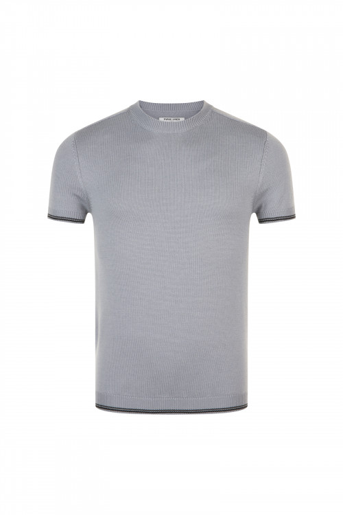 Small product image of TSHIRT T01 GREY&BLACK