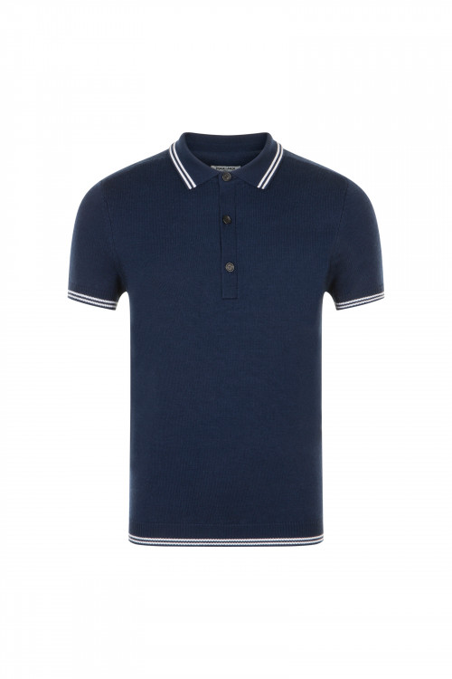 Small product image of POLO T02 NAVY&WHITE