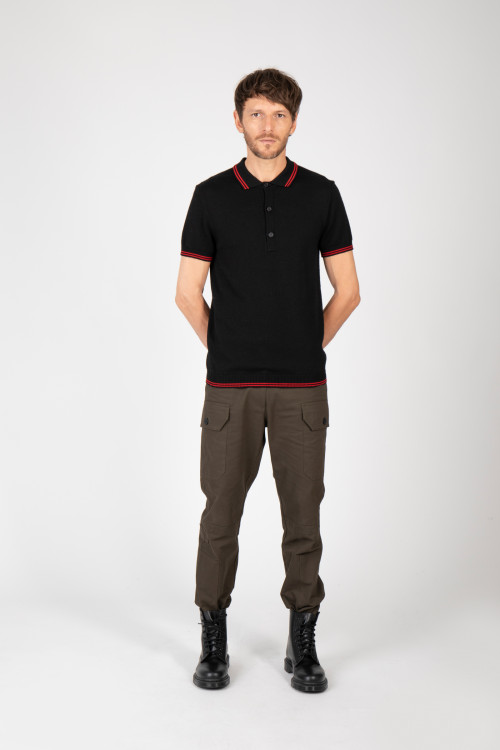 Small product image of POLO T02 BLACK&RED